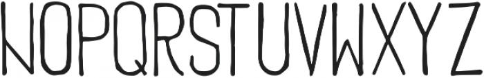 SkinnyCond ttf (400) Font UPPERCASE
