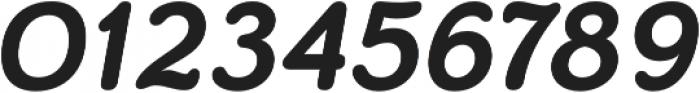 Skirt Bold Italic otf (700) Font OTHER CHARS