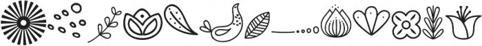 SkitCut Doodle otf (400) Font LOWERCASE