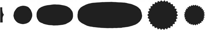 Skitch Borders Fill otf (400) Font UPPERCASE