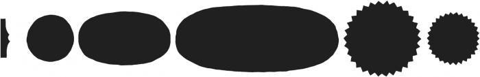 Skitch Borders Fill otf (400) Font LOWERCASE
