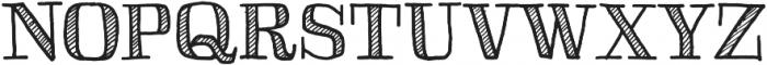 Skitch Shaded otf (400) Font UPPERCASE