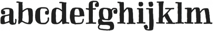Skitch Solid otf (400) Font LOWERCASE
