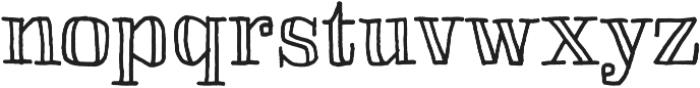 Skitch otf (400) Font LOWERCASE
