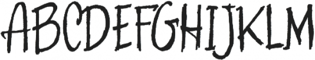 Skratch handwritten otf (400) Font UPPERCASE