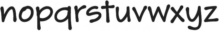 Skriva Bold otf (700) Font LOWERCASE