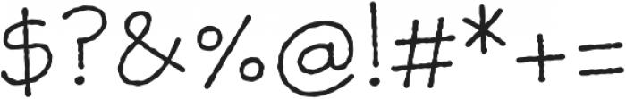 Skriva Inky otf (400) Font OTHER CHARS