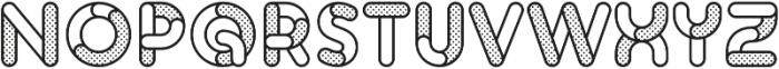 Skrova Parts Outline Dotted 1 otf (400) Font UPPERCASE