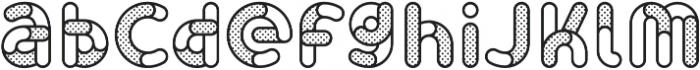 Skrova Parts Outline Dotted 1 otf (400) Font LOWERCASE
