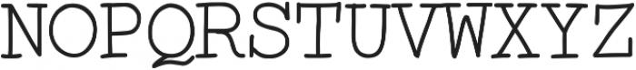 Skurier ttf (400) Font UPPERCASE