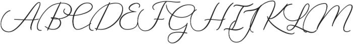 Sky High otf (700) Font UPPERCASE
