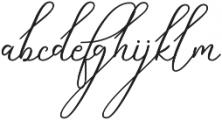 Sky High otf (700) Font LOWERCASE