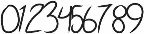 Sky Script Regular otf (400) Font OTHER CHARS