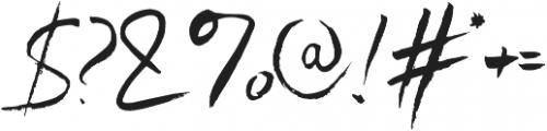 SkyLoveScript Regular otf (400) Font OTHER CHARS