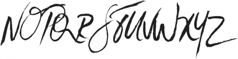 SkyLoveScript Regular otf (400) Font UPPERCASE