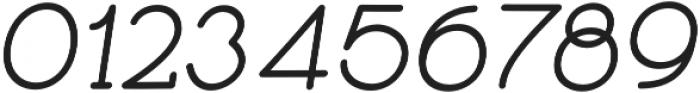 Skybird Medium Italic otf (500) Font OTHER CHARS