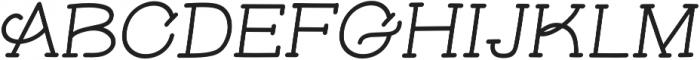 Skybird Medium Italic otf (500) Font UPPERCASE