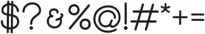 Skybird Medium otf (500) Font OTHER CHARS
