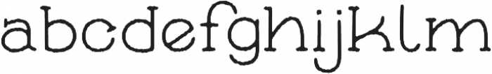 Skybird Rough otf (400) Font LOWERCASE