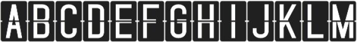 Skyfont Regular otf (400) Font UPPERCASE