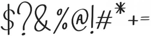 Skylar Sans otf (400) Font OTHER CHARS