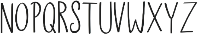 Skylar Sans otf (400) Font LOWERCASE