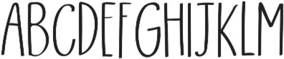 Skylar Sans ttf (400) Font UPPERCASE