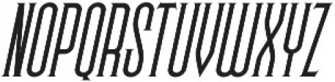 Skyward Serif Oblique otf (400) Font UPPERCASE