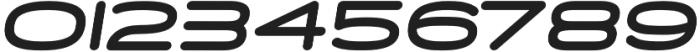 Skywave Heavy Italic otf (800) Font OTHER CHARS