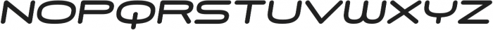 Skywave Heavy Italic otf (800) Font UPPERCASE