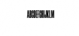 Skyline Typeface Font UPPERCASE