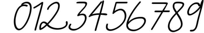 Skolateka Script - handwritten typeface 2 Font OTHER CHARS