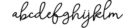 Skolateka Script - handwritten typeface 2 Font LOWERCASE