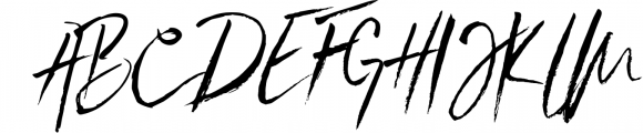 SkyLove SVG Unique Watercolor Script Font Font UPPERCASE