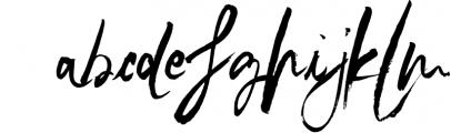 SkyLove SVG Unique Watercolor Script Font Font LOWERCASE