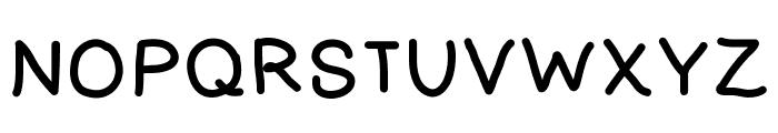 SKElementary Font UPPERCASE