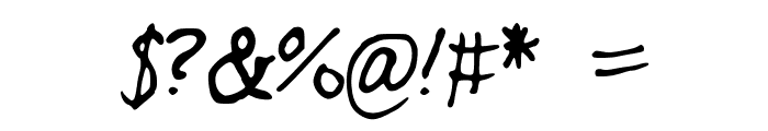 SKFreedom Font OTHER CHARS