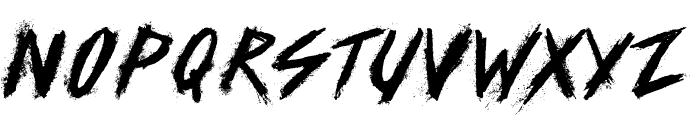 SKID Font UPPERCASE