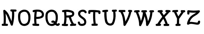SKITTLE Font UPPERCASE