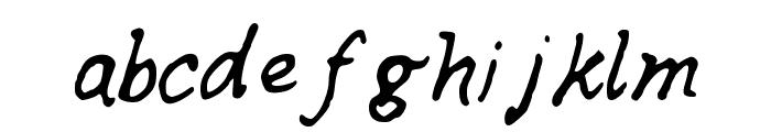 SKPerfectRhyme Font LOWERCASE