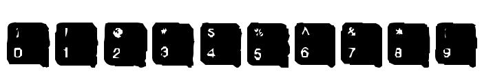 SkanHead  Lite Font OTHER CHARS