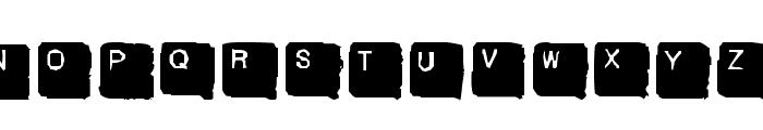 SkanHead  Lite Font UPPERCASE