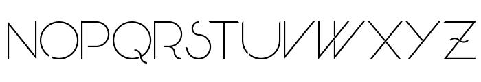 Skandar Font LOWERCASE