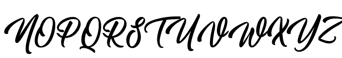 Skating Move Font UPPERCASE