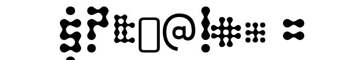 SkeletorStance-Regular Font OTHER CHARS