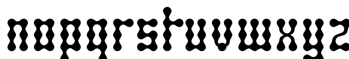 SkeletorStance-Regular Font LOWERCASE