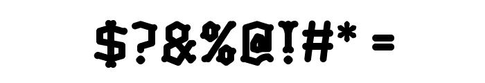 Skelett-Bold Font OTHER CHARS