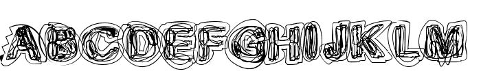 Sketch 1 Font UPPERCASE