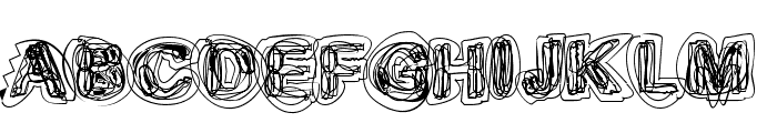 Sketch 1 Font LOWERCASE