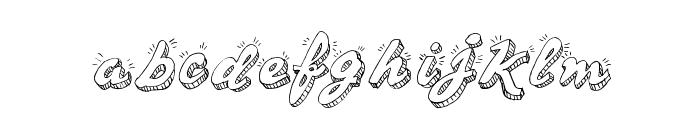 Sketch Handwriting Font LOWERCASE